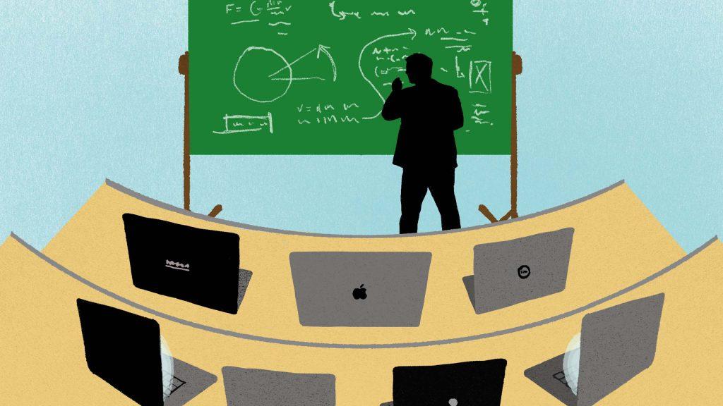 شرکت در کلاس های آنلاین