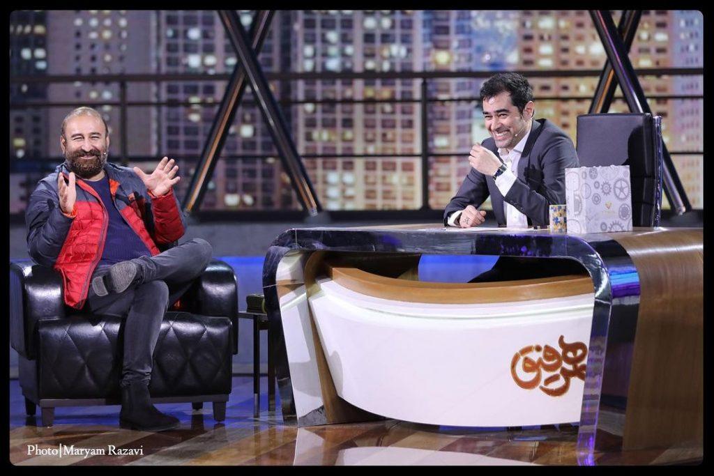 شهاب حسینی و مهران احمدی در برنامه همرفیق