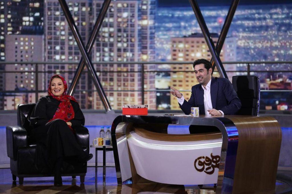 شهاب حسینی و شبنم مقدمی در همرفیق