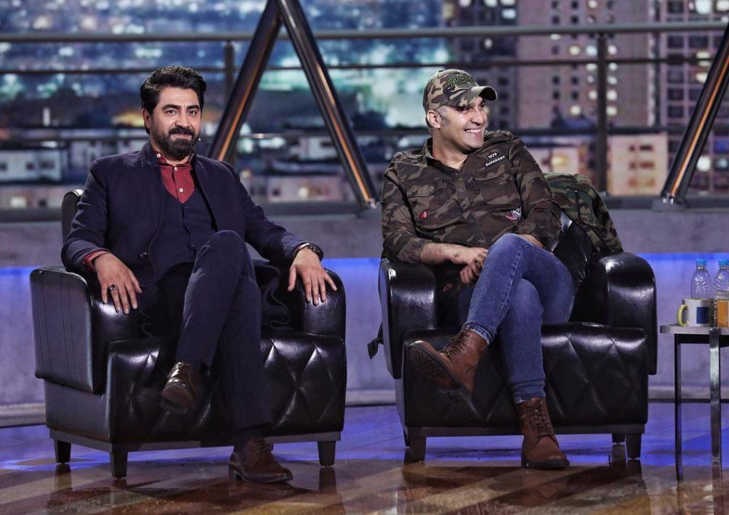 محمدرضا علیمردانی و نیما رئیسی